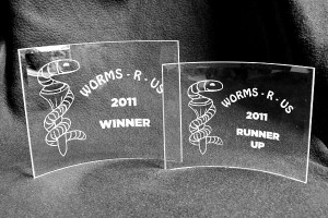 Worms-R-Us Trophies